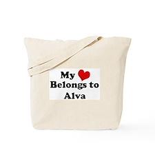My Heart: Alva Tote Bag