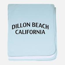Dillon Beach California baby blanket