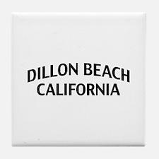 Dillon Beach California Tile Coaster