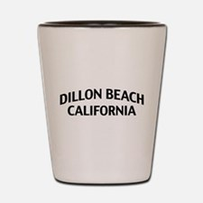 Dillon Beach California Shot Glass