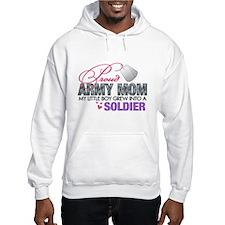 Cute Army mom Hoodie