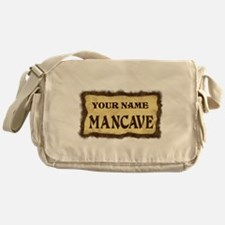 Mancave Sign Messenger Bag