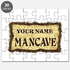 Mancave Sign Puzzle