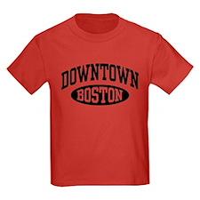 Downtown Boston T