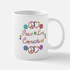 Peace Love Connecticut Mug