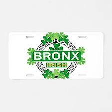 bronx Aluminum License Plate