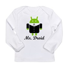 Unique Android Long Sleeve Infant T-Shirt