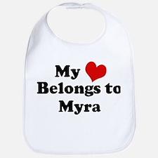 My Heart: Myra Bib