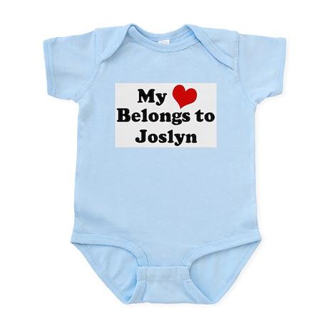 My Heart: Joslyn Infant Creeper
