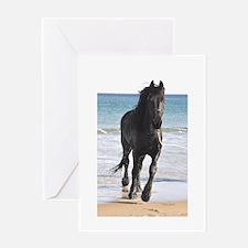 Jessie on Beach Greeting Card