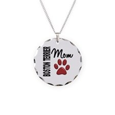 Boston Terrier Mom 2 Necklace