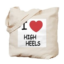 I heart high heels Tote Bag
