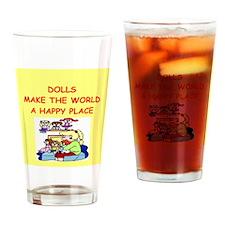 dolls Drinking Glass