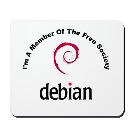 Debian Society Mousepad
