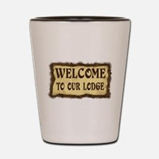 Lodge Welcome Shot Glass