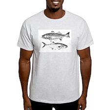 Striper Bass and Bluefish T-Shirt