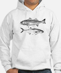 Striper Bass and Bluefish Hoodie