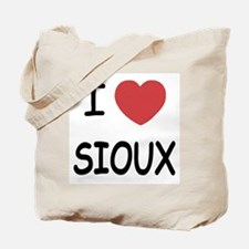 I heart sioux Tote Bag