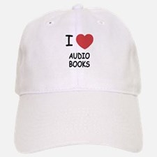 I heart audio books Baseball Baseball Cap