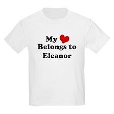 My Heart: Eleanor Kids T-Shirt