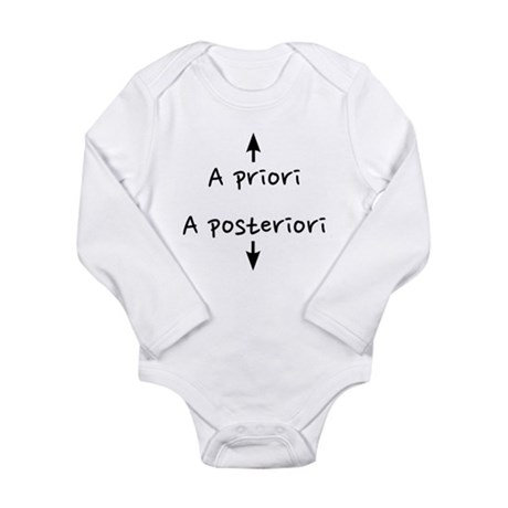 Prior Posterior Long Sleeve Infant Bodysuit