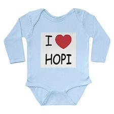 I heart hopi Long Sleeve Infant Bodysuit