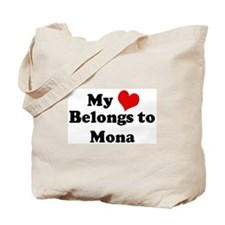My Heart: Mona Tote Bag