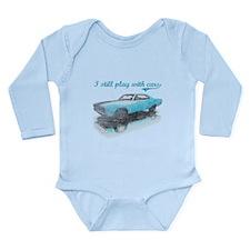 I still play with cars Long Sleeve Infant Bodysuit
