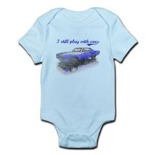 I still play with cars Infant Bodysuit