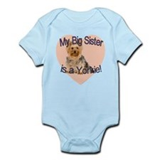 Yorkie Sister Infant Bodysuit