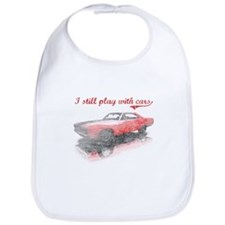 I still play with cars Bib