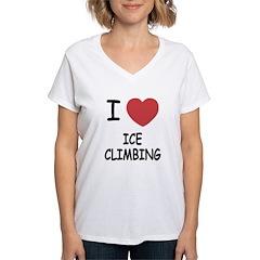 I heart ice climbing Shirt