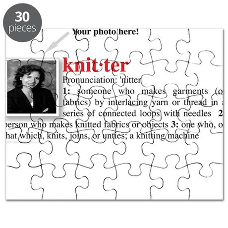 Definition of a Knitter Puzzle