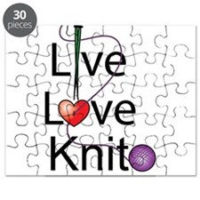 Live Love KNIT Puzzle