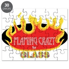 Flaming Crazy for Glass Puzzle