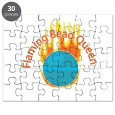 Flaming Bead Queen Puzzle