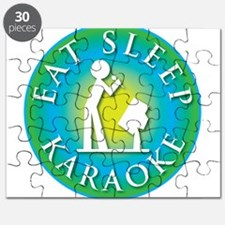 Eat Sleep KARAOKE Puzzle