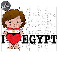 I Love Egypt Puzzle