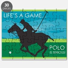 Life's a Game..Polo is SERIOU Puzzle