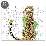 Animal Alphabet Jaguar Puzzle