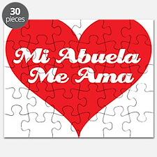 Funny Nana and papa love me Puzzle