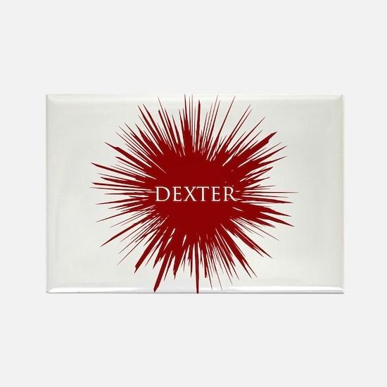 Bloody Dexter Rectangle Magnet