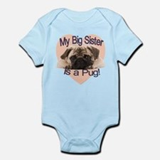 Pug Sister Infant Bodysuit