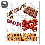 Chocolate VS Bacon Puzzle
