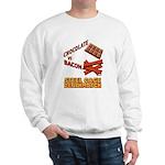 Chocolate VS Bacon Sweatshirt
