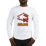 Chocolate VS Bacon Long Sleeve T-Shirt