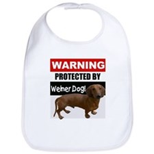Protected by Weiner Dog Bib