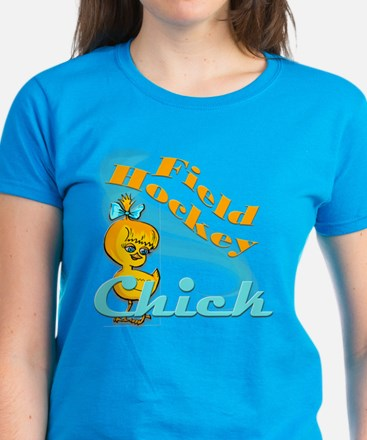 Field Hockey Chick #2 Women's Dark T-Shirt