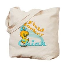 Field Hockey Chick #2 Tote Bag