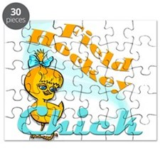 Field Hockey Chick #2 Puzzle